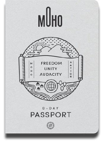 Moho D-Day Passport