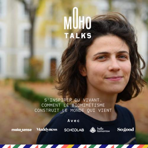 Kalina Raskin, fondatrice du laboratoire de Biomimétisme Ceebios ; le jeudi 14 mai à 12:30