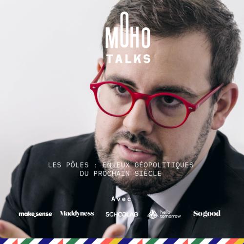 MoHo Talk | Mikaa MERED, Analyste, conférencier et enseignant en géopolitique