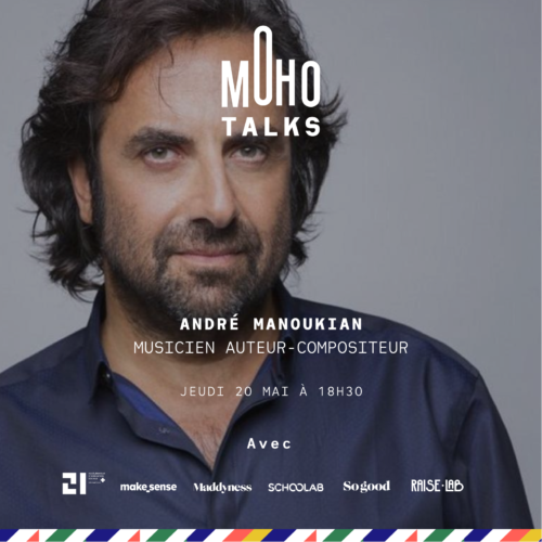MohoTalk with André Manoukian