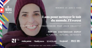 Marion Chaygneaud-Dupuy, bouddhiste, alpiniste, activiste